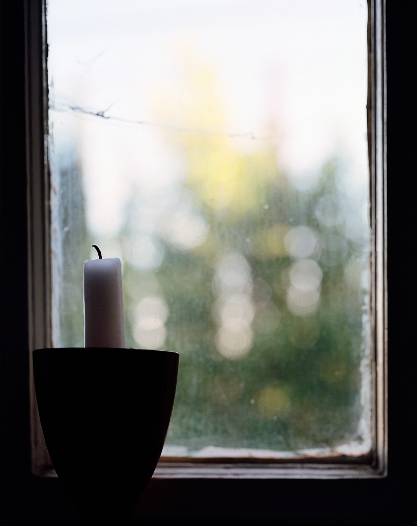 candle by the window, highland park