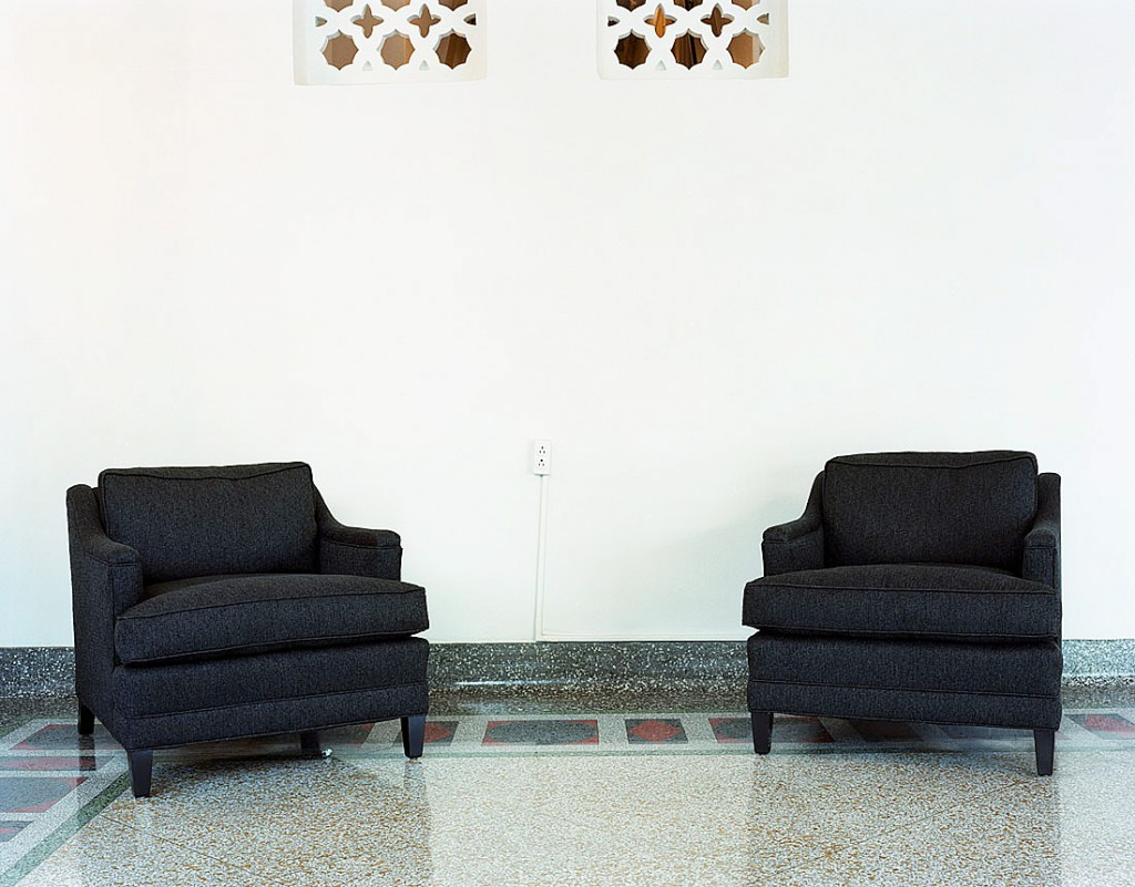 photo displayed in the installation [sofas]