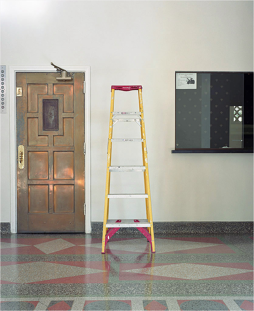 photo displayed in the installation [ladder]